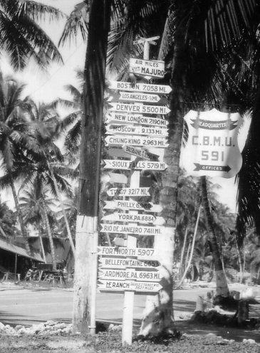 One of my dad's pictures, from Majuro, 1945