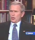 Bush dismisses critics who say he wants to go to war with Iran