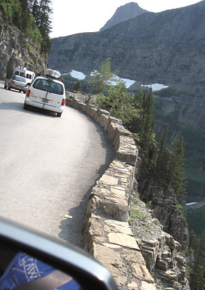On Going to the Sun Road, Aug. 2012; photo by Piper Driskell