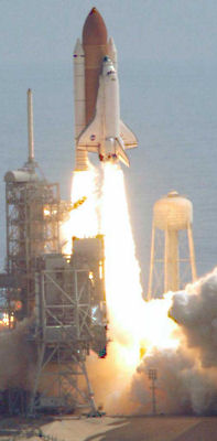 STS-114 Discovery takeoff, July 26, 2005. NASA/KSC image