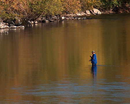 Fishing the Boise River, Oct. 2008