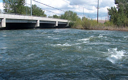 Boise R. at the Glenwood Bridge, 4 to 5,000 cfs