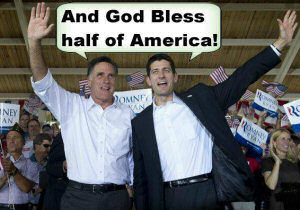 And God bless half of America!