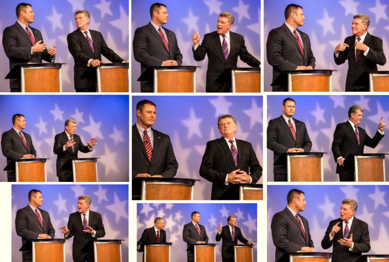 From the Idaho Governor debate, Oct., 2014