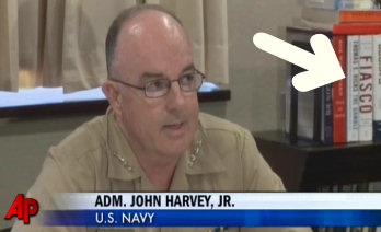 Screen shot from Adm. Harvey announcing Honors' firing