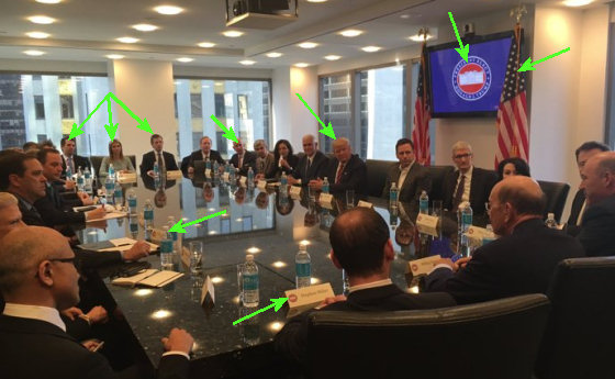 Photo of tech CEOs meeting in Trump Tower, scraped off Twitter