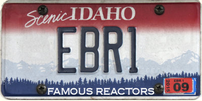 Send-up Idaho Plate