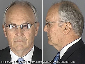 Larry Craig's Minnesota mug shot