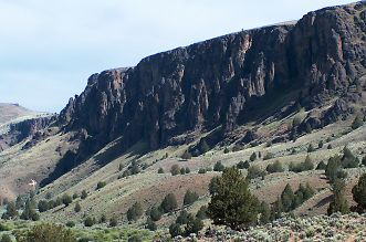 Middle Fork of the Owyhee River, above 3 Forks