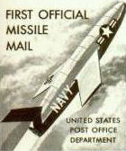 Post office image from Missile Mail postcard