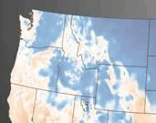 Early Thursday morning PNW snippet from NOAA animation