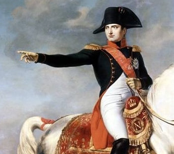 Napolean at the Battle of Wagram