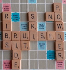 No riding powder, play Scrabble instead I guess