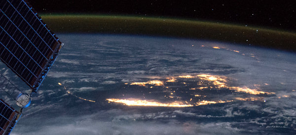 NASA image from the International Space Station, link to original