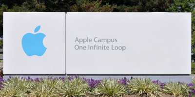 Really, attribution for your photo of a sign? 'Apple Campus One Infinite Loop Sign' by Joe Ravi. Licensed under CC BY-SA 3.0 via Commons - https://commons.wikimedia.org/wiki/File:Apple_Campus_One_Infinite_Loop_Sign.jpg#/media/File:Apple_Campus_One_Infinite_Loop_Sign.jpg
