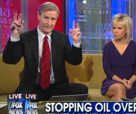 Screenshot of Fox News in action