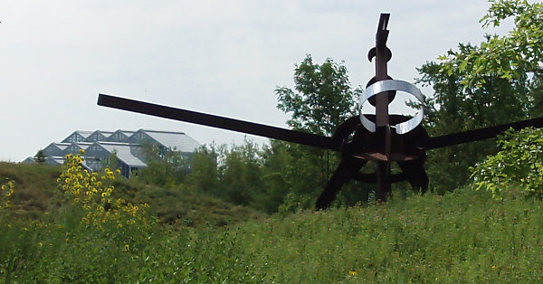 'Scarlatti,' by Mark di Suvero, at Frederick Meijer  Gardens