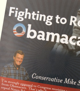 From Mike Simpson's latest super-sized campaign postcard