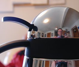 Reflection in a teapot dome