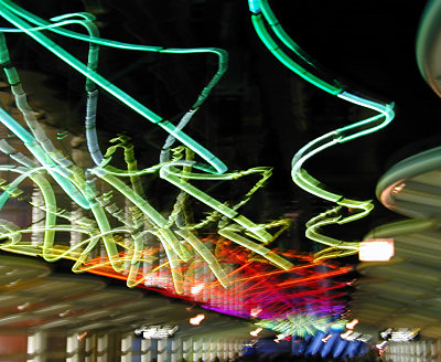 My 2003 photo of 'The Sky's the Limit', at the Chicago O'Hare