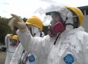 Still from the IAEA video, 'Inside Fukushima Daiichi'