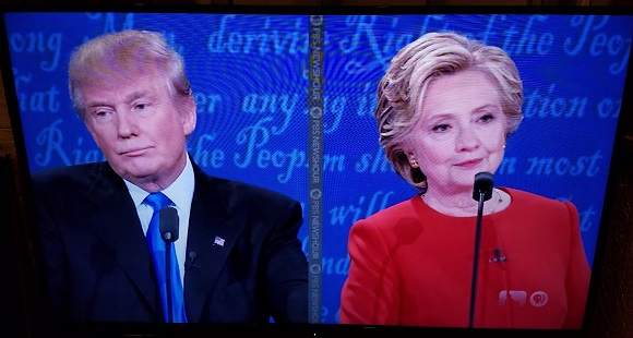 The moment in tonight's debate