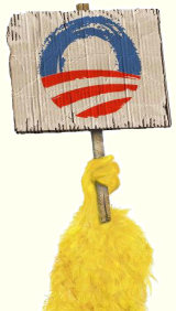 Big Bird for Barack Obama