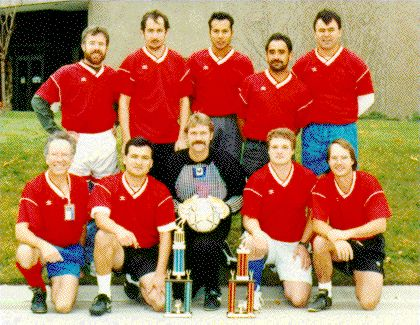 The 1995 Blazing Spuds team photo